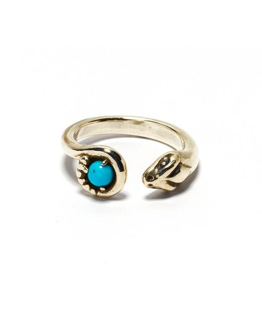 Pamela Love | Blue Eden Ring - Br | Lyst