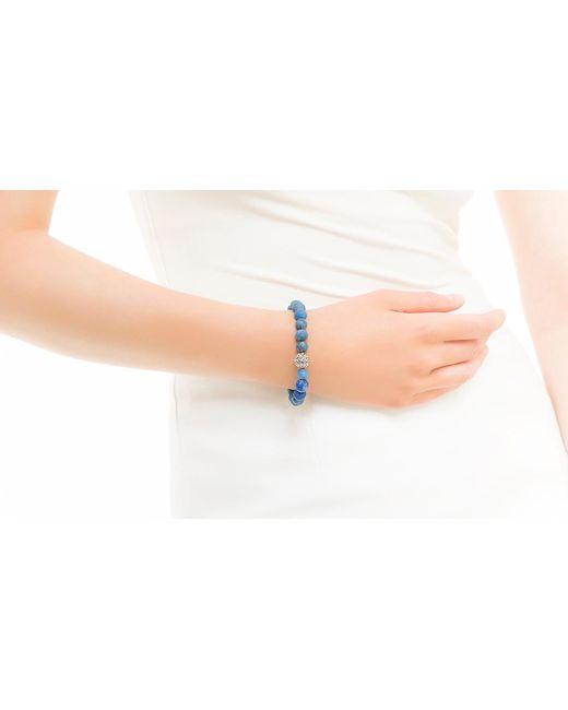 John Hardy | Blue Classic Chain Bead Bracelet With Lapis | Lyst