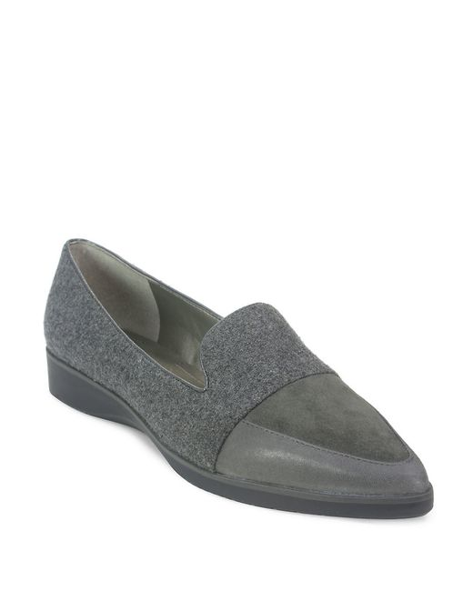 Tahari | Gray Flight Loafer | Lyst