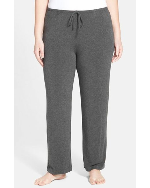 DKNY   Gray 'urban Essentials' Pants   Lyst