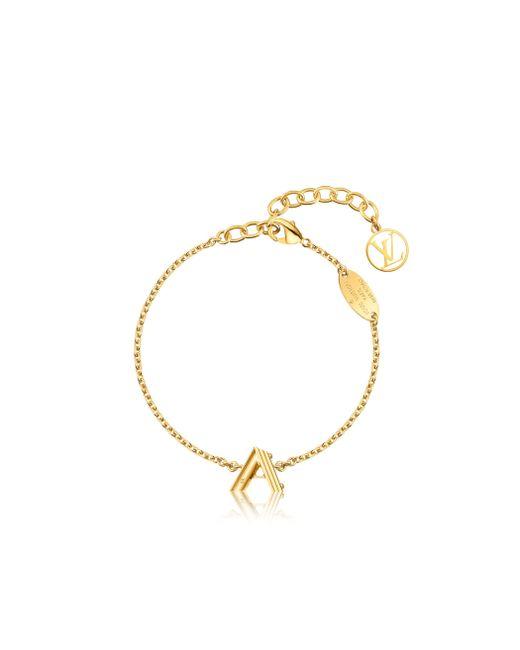 Louis Vuitton | Metallic Lv & Me Bracelet, Letter A | Lyst