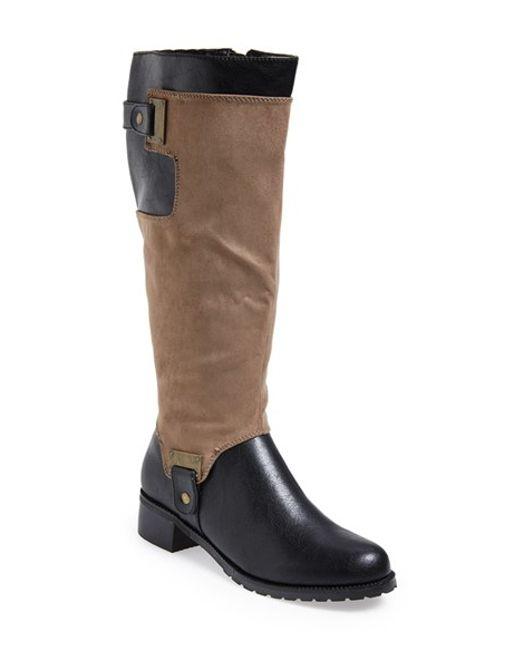 Bella Vita | Brown 'anya Ii' Tall Boot | Lyst