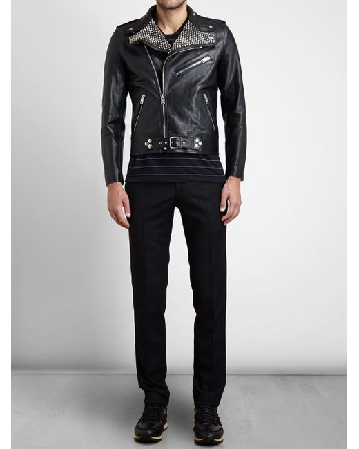 Saint Laurent | Black Military Parka for Men | Lyst