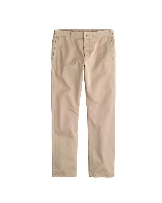 J.Crew | Natural Wallace & Barnes Chino In Italian Twill for Men | Lyst