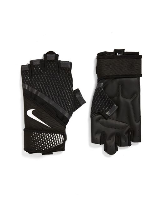 Nike Men S Destroyer Training Gloves: Nike 'destroyer' Fingerless Training Gloves In Black For