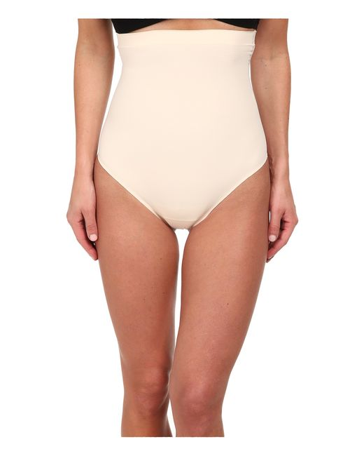 Yummie By Heather Thomson | Natural Brill High Waist Thong | Lyst