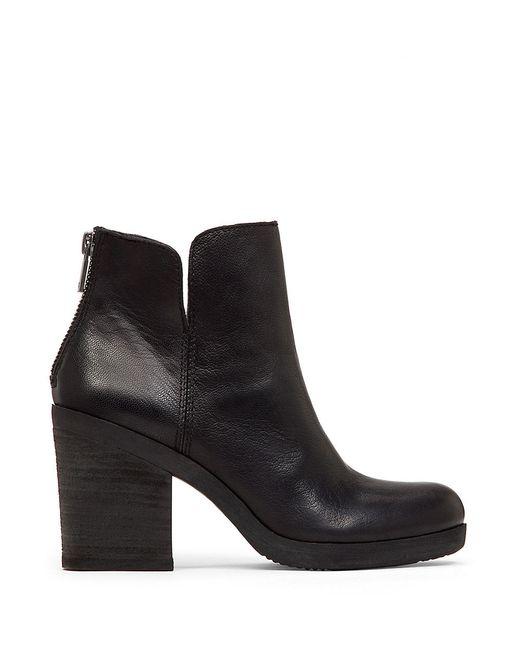 Lucky Brand | Black Orsann Leather Ankle Boots | Lyst