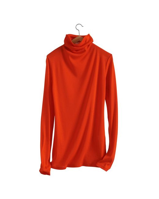 Petit Bateau | Red Women's Light Cotton Fine Sweater | Lyst