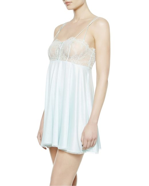 La Perla | Green Baby Doll And Thong | Lyst
