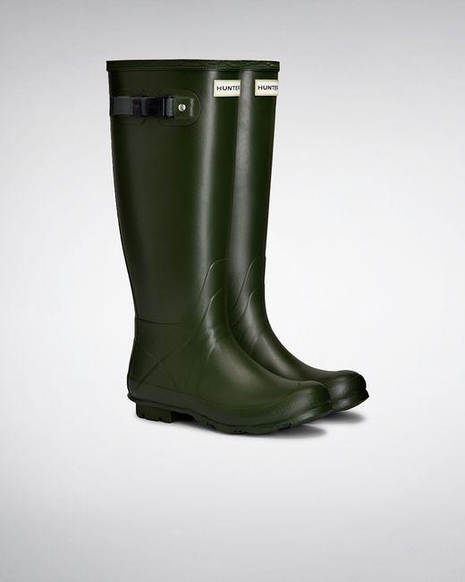 Hunter | Green Women's Norris Field Neoprene Lined Rain Boots | Lyst
