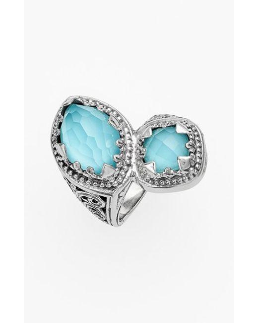 Konstantino | Blue 'aegean' Stone Ring | Lyst