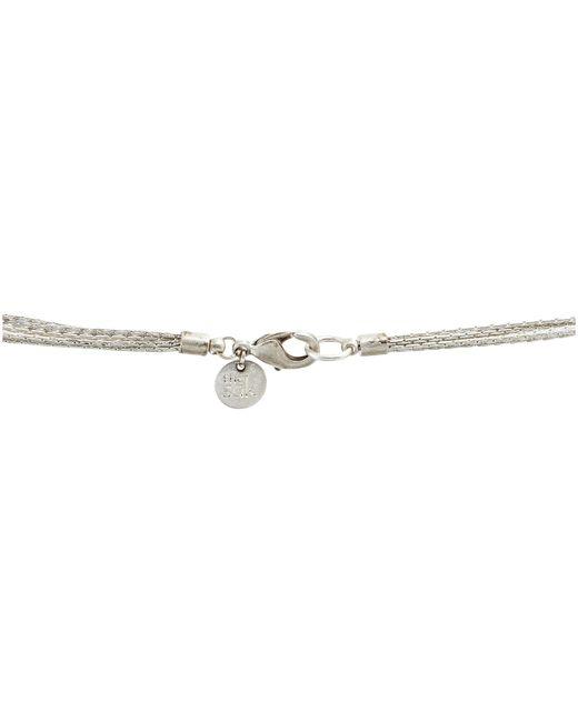 The Sak   Metallic Multi Ring Slider Necklace   Lyst