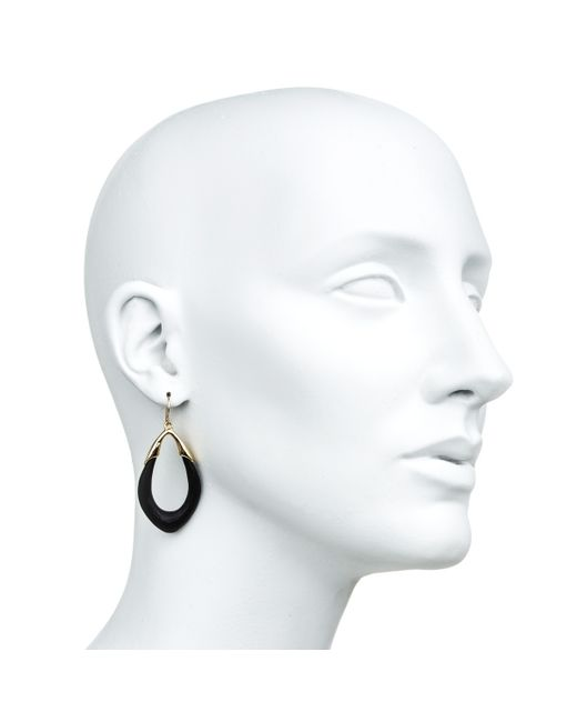 Alexis Bittar | Black Gold Marquis Link Earring You Might Also Like | Lyst