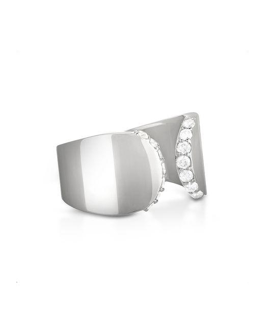 Carbon & Hyde | Metallic Posh Ring | Lyst