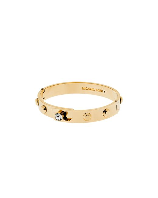 Michael Kors | Metallic Astor Hinge Bangle | Lyst