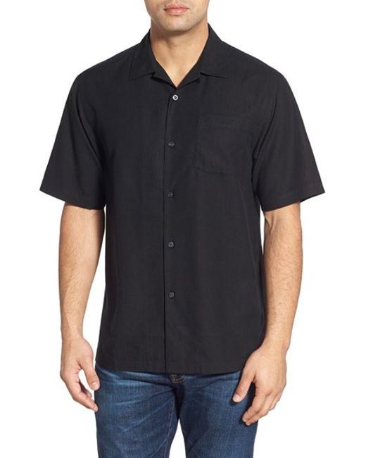 Tommy Bahama 39 Java Dobby 39 Original Fit Silk Camp Shirt In