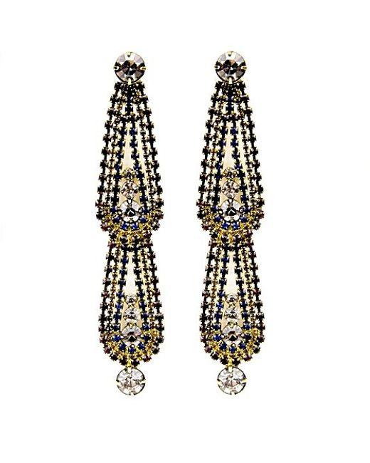 Nicole Romano | Metallic Mona Earrings | Lyst