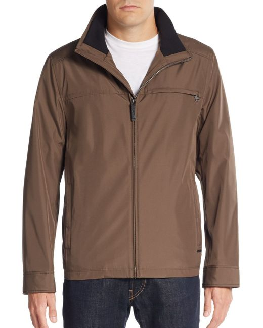 Calvin Klein | Brown Water-resistant Jacket for Men | Lyst