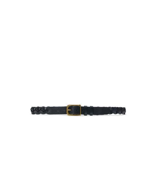 Polo Ralph Lauren | Black Braided Leather Belt for Men | Lyst