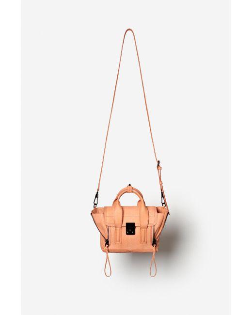 3.1 Phillip Lim | Pink Pashli Mini Leather Satchel | Lyst
