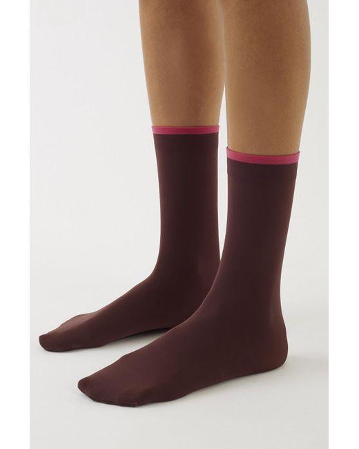 3.1 Phillip Lim - Red Falke Fine Socks - Lyst