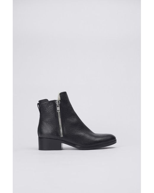 3.1 Phillip Lim | Black Alexa Shearling Boot | Lyst