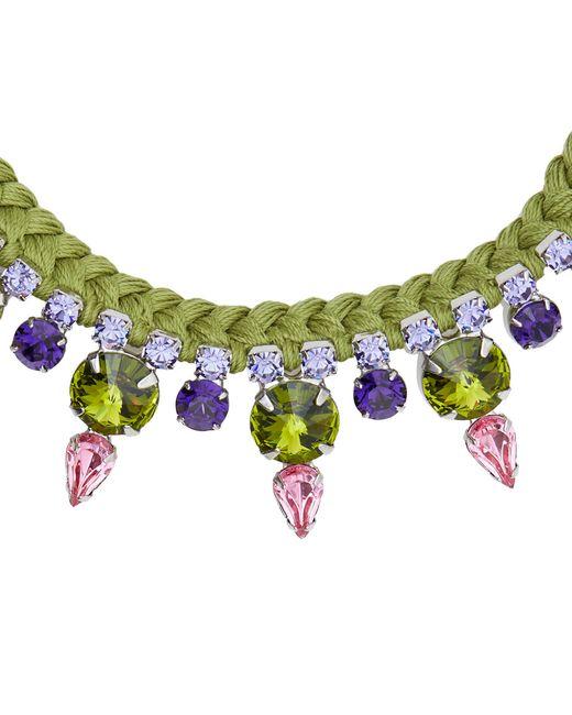 Joomi Lim   Green Necklace   Lyst