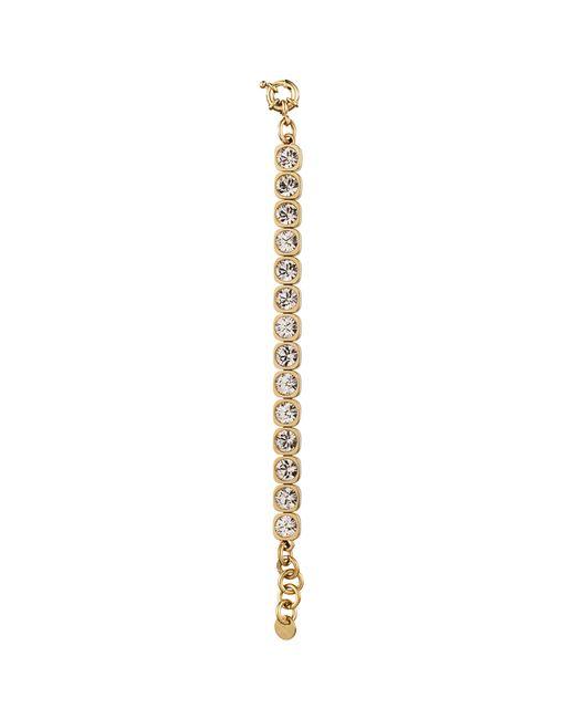 Dyrberg/Kern | Metallic Dyrberg/kern Conian Gold Single Crystal Bracelet | Lyst