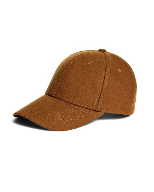 Brooks Brothers | Brown Wool Baseball Hat for Men | Lyst