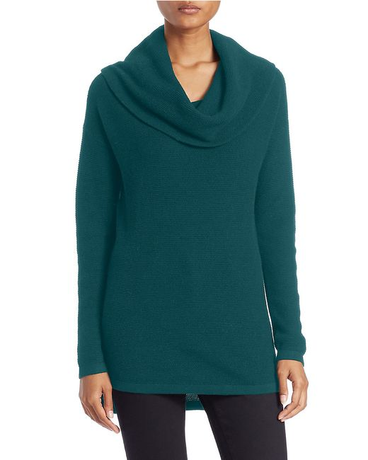 Lord & Taylor | Blue Plus Drop-shoulder Cowl-neck Sweater | Lyst