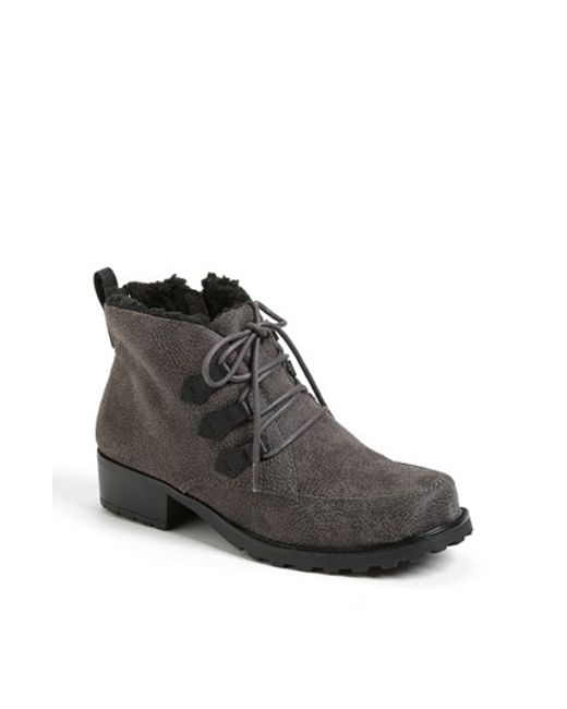 Trotters   Gray 'snowflakes Iii' Bootie   Lyst