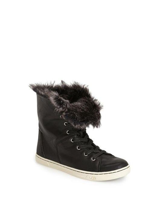 UGG | Black 'croft' Sneaker | Lyst