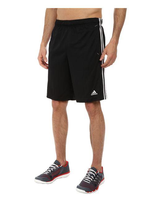 Adidas Originals | Black Essential 3s Shorts for Men | Lyst