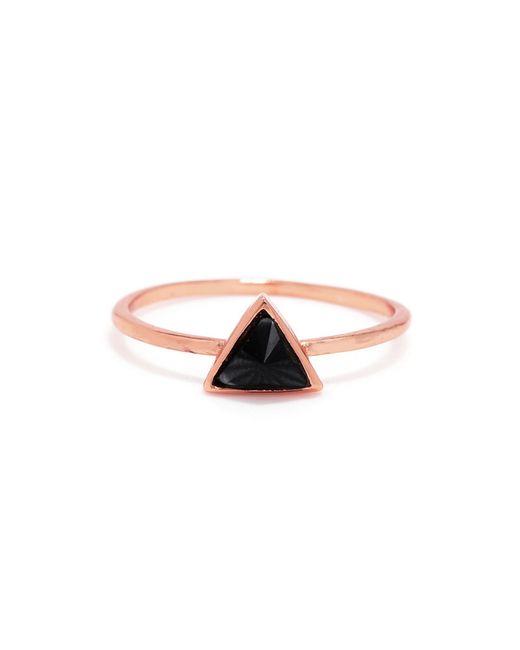 Bing Bang | Pink Delta Bezel Ring | Lyst