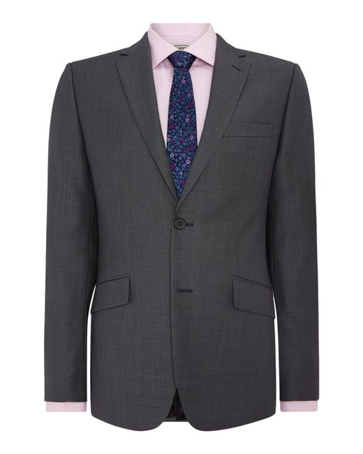 Howick | Gray Darby Birdseye Slim Fit Suit Jacket for Men | Lyst