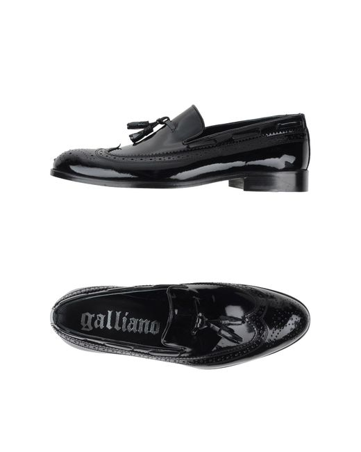 John Galliano | Black Loafer for Men | Lyst