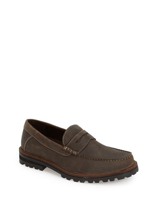 Dr. Scholls | Brown 'ronald' Penny Loafer for Men | Lyst