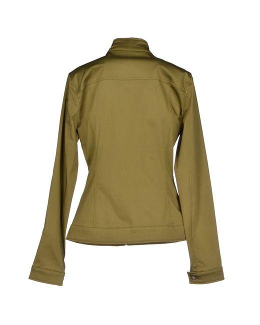colmar jacket in green lyst. Black Bedroom Furniture Sets. Home Design Ideas