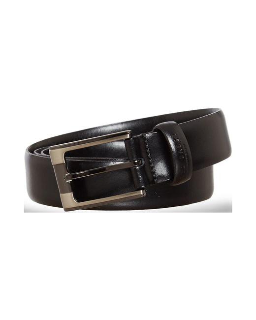 Ted Baker   Black Formal Leather Belt for Men   Lyst
