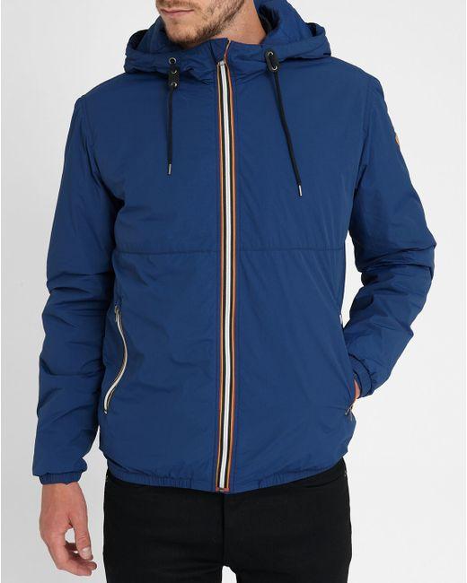 jack jones jacket in blue for men save 50 lyst. Black Bedroom Furniture Sets. Home Design Ideas
