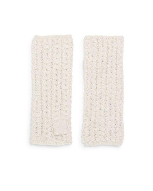 Portolano | Natural Woven Tube Gloves | Lyst