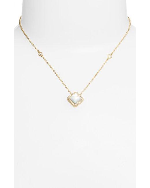 Freida Rothman | Metallic 'femme' Pendant Necklace | Lyst