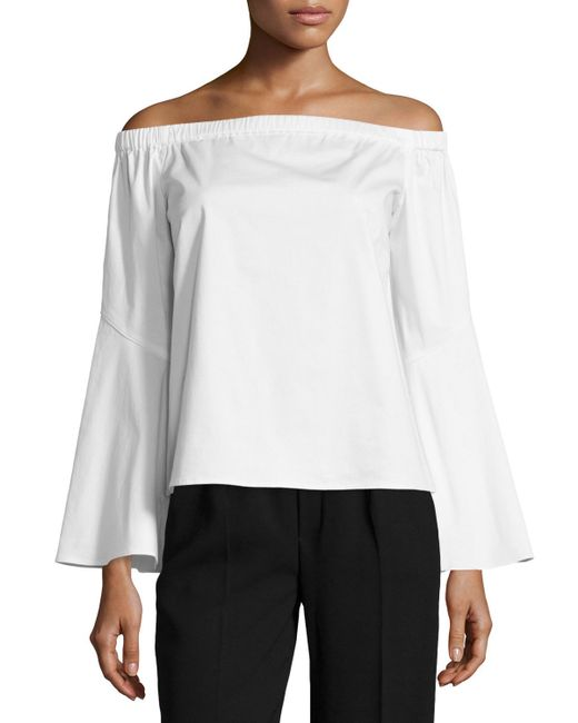 Zac Posen White Blouse 17