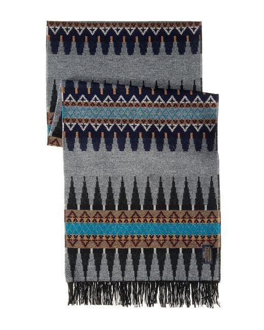 Pendleton | Multicolor Plaid Whisperwool Muffler Scarf | Lyst