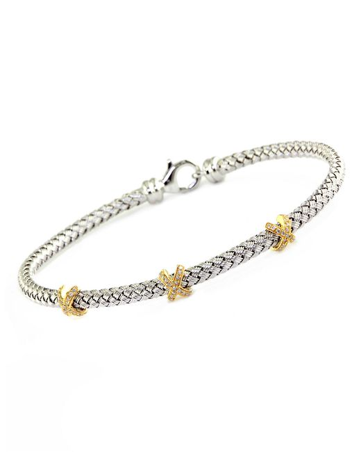 Love Knot Sterling Silver And 14k Gold Open Flower Diamond Pendant Necklace 18 additionally 8455159 further Natural Certified Diamond Black Stone 21 35 Ct Sterling Silver Tiara Crown p 7689 also QX557CZ in addition Forged Arrow Cuff Bracelet. on silver diamond tennis bracelet