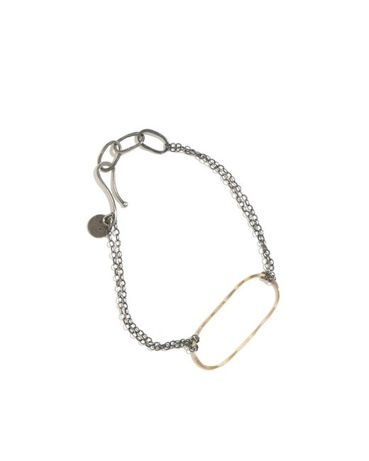 Melissa Joy Manning | Metallic Forged Oval Bracelet | Lyst