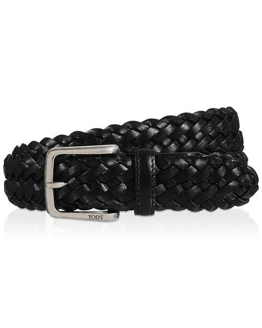 Tod's | Black Leather Belt | Lyst
