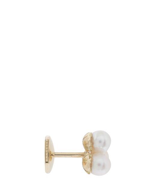Yvonne Léon | Metallic Akoya Pearls Stud Earring | Lyst