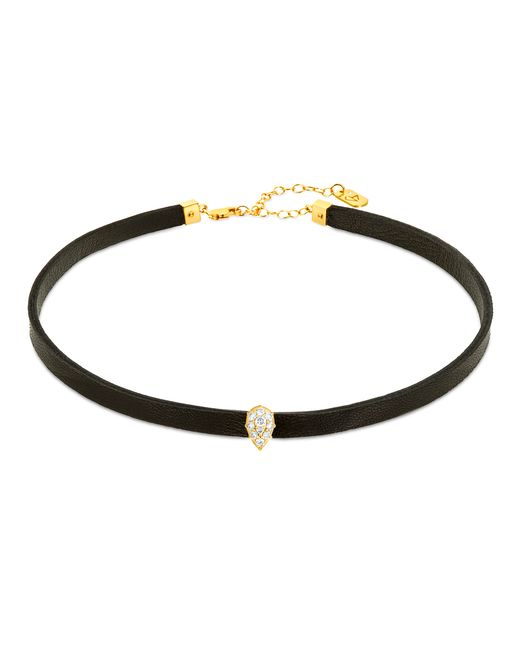 Carbon & Hyde | Metallic Empress Hyde Choker | Lyst