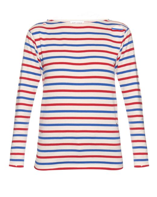Shop our women's long sleeve tops collection. Lighthouse Causeway is a classic red and white striped top. With long sleeves and Breton stripes, it's a year round wardrobe staple! An easy-to-wear style, in % cotton and comes 5 seasonal colours. Free UK/IRL P&P (over £45). FREE Returns.